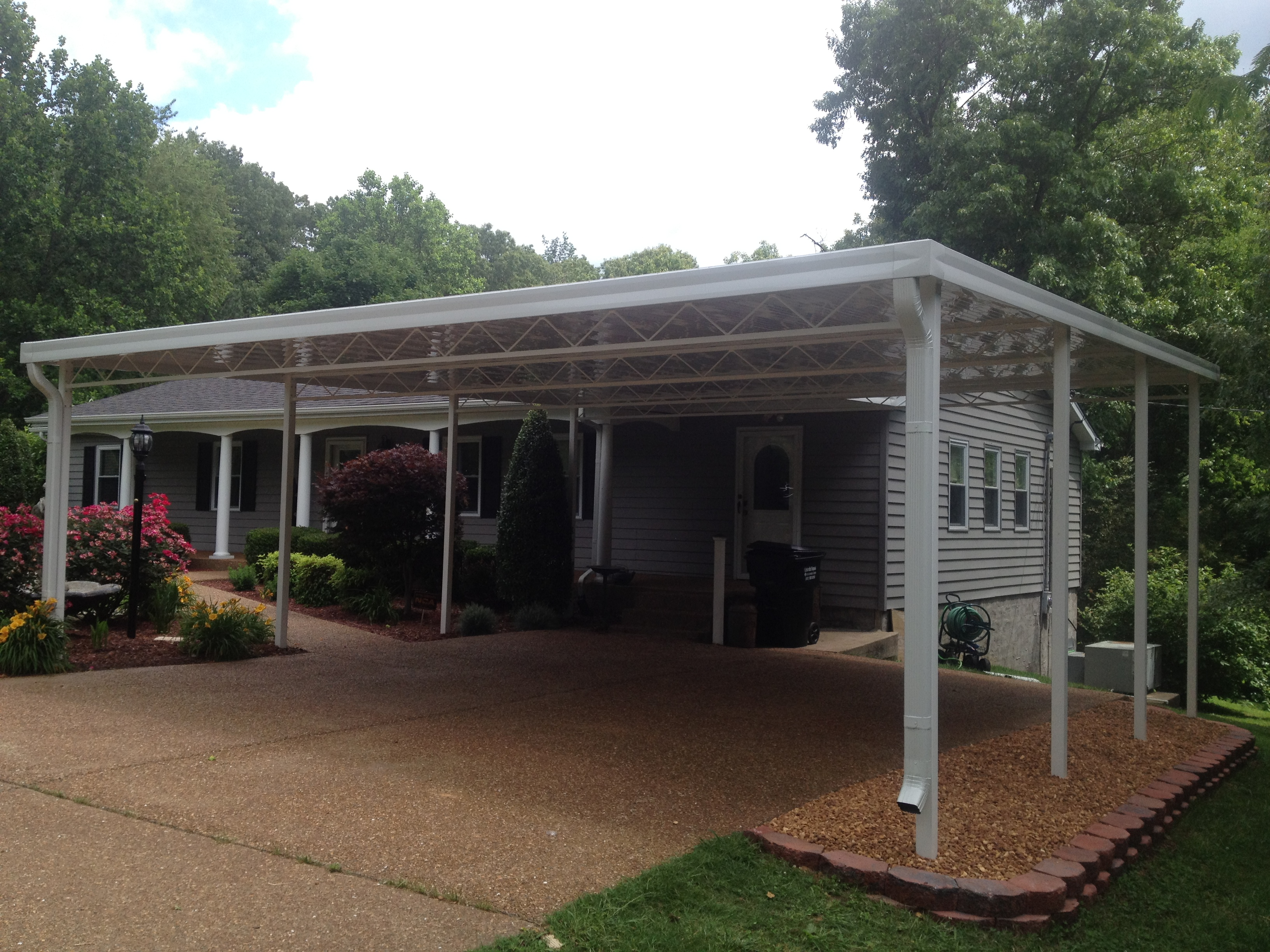 Awnings canopies over tn 931 980 9314 info for Carport deck